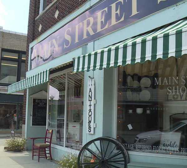 Main Street Shop in Columbiana, Ohio