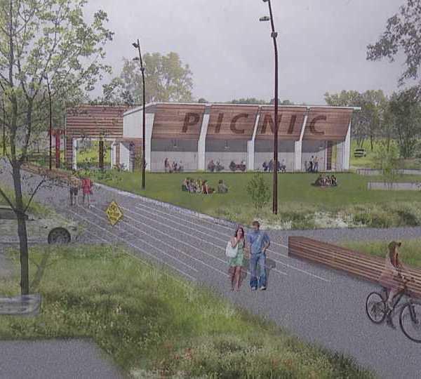Proposed bike trail in Girard