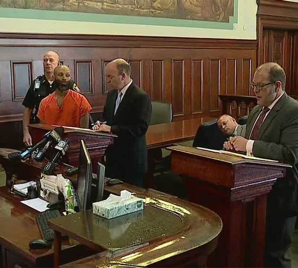 """""""Good morning"""" and """"Yes, sir"""" were the only words that came from Keith Burley as he stood before a judge inside a Mahoning courtroom Thursday."""