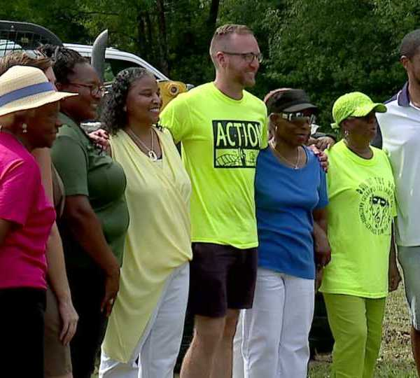 Dedication of Lincoln Knolls Community Park in Youngstown