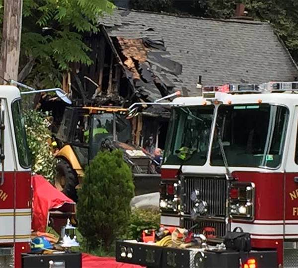 A 48-year-old woman and 12-year-old girl were killed in a house fire in Neshannock.