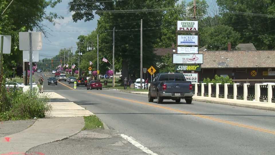 The Rt. 534 bridge in Newton Falls, Ohio will close Monday.