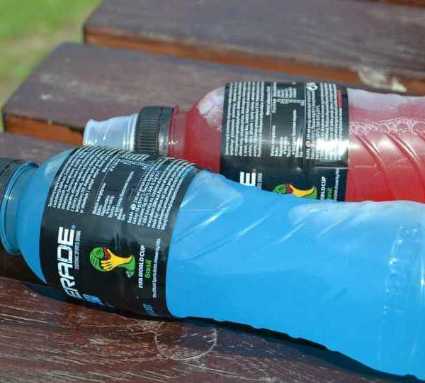 Powerade, sports drinks, electrolytes