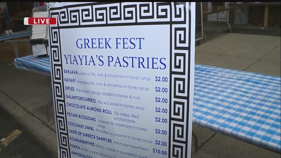 Daybreak Nation On Location: St. Demetrios Greek Festival