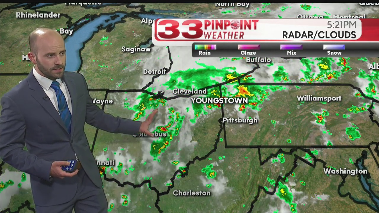 More strong storms possible before the week wraps up | WYTV