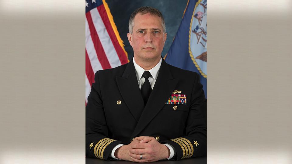 Capt. Richard G. Rhinehart of Ellsworth