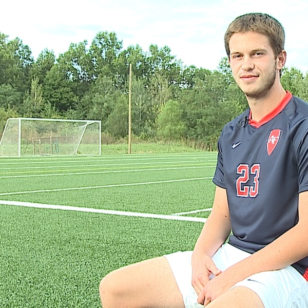 The Austintown Fitch senior is an All District defender on the soccer team with a 4.0 GPA.