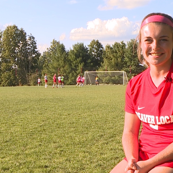 The Beaver Local senior is a 1st Team All District soccer player with a 4.2 GPA and a 34 on her ACT.