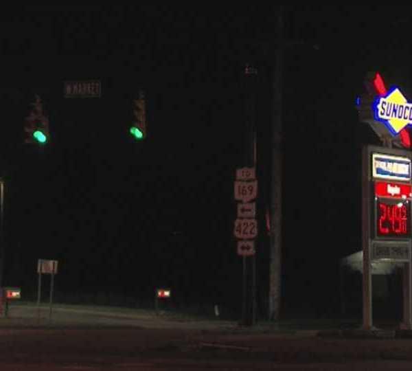 Warren gas station shooting