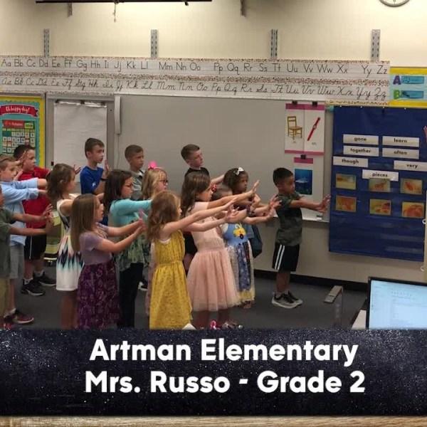 Artman Elementary - Mrs. Russo - 2nd Grade