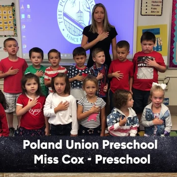 Poland Union Preschool - Miss Cox - Preschool