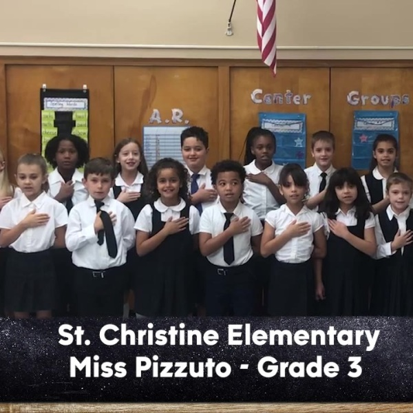 St. Christine School - Miss Pizzuto - 3rd Grade