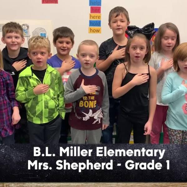 B.L. Miller Elementary - Mrs. Shepherd - 1st Grade