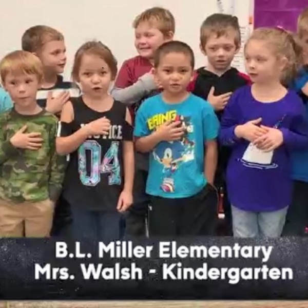 B.L. Miller Elementary - Mrs. Walsh - Kindergarten