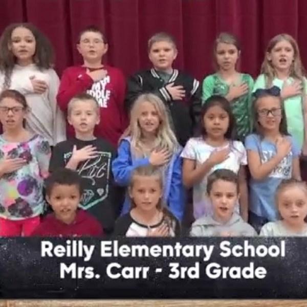 Reilly Elementary - Mrs. Carr - 3rd Grade