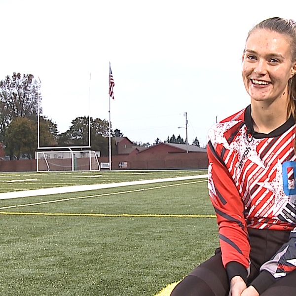 The Springfield senior is an All County goalkeeper for the Tigers and is on track to be valedictorian with a 4.0 GPA.