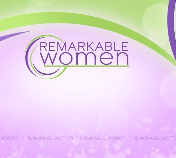 Remarkable Women Logo Background