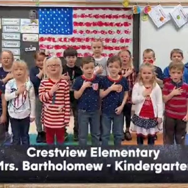 Crestview Elementary School - Mrs. Bartholomew - Kindergarten