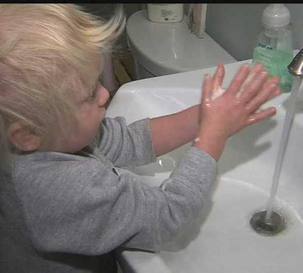 Hand washing, local health