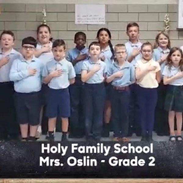 Holy Family School - Mrs. Oslin - 2nd Grade