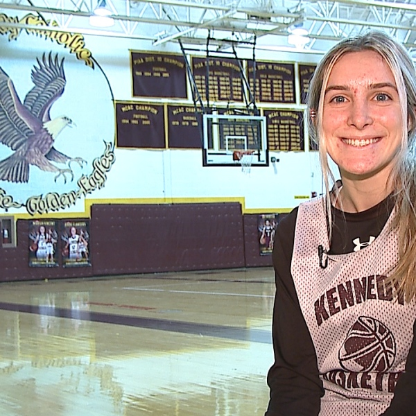 The Kennedy Catholic senior is an All State guard with six school records and a 4.0 GPA