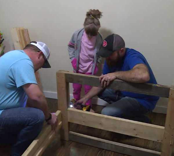 Sleep in Heavenly Peace brings bed to Struthers family