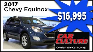 Chevy Equinox, Car Culture, MyValleyCars