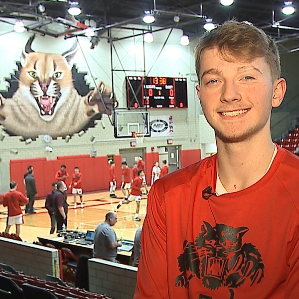 The Struthers senior is an All Conference basketball player, who ranks in the top 25 of his class with a 3.7 GPA.