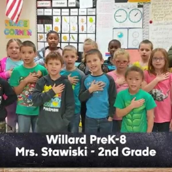 Willard PreK-8 School - Mrs. Stawiski - 2nd Grade