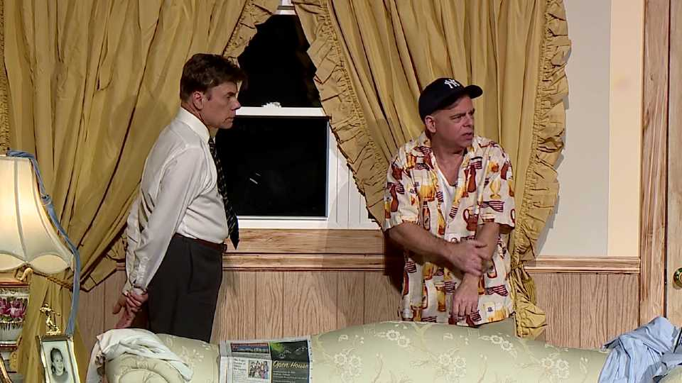 Len Rome and Jim Loboy in The Odd Couple