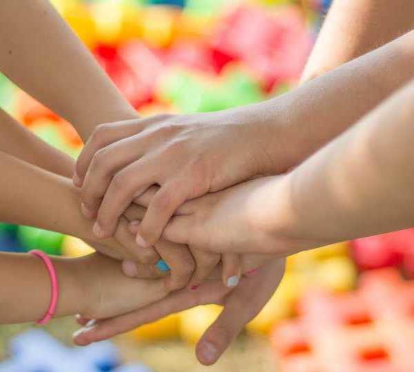 Children, hands, happiness generic