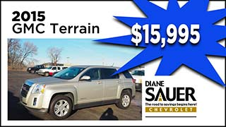 GMC Terrain, Diane Sauer, My Valley Cars