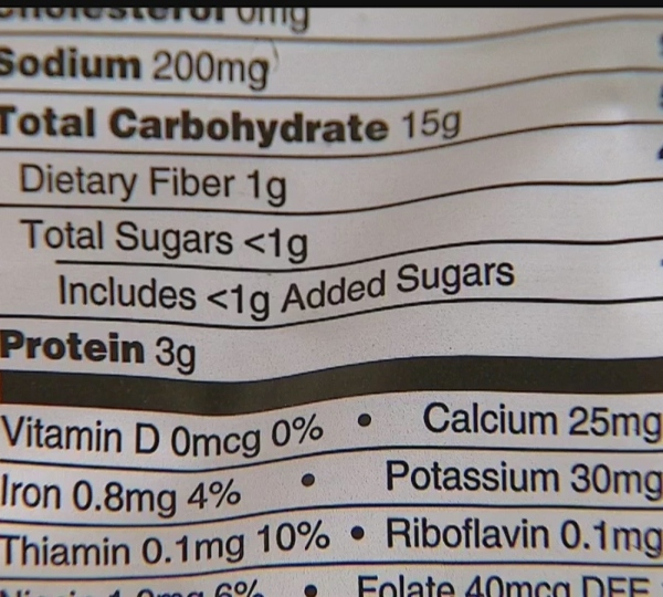 New nutrition labels, Len Rome's Local Health