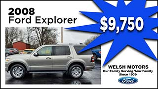 Ford Explorer, Welsh Motors, MyValleyCars