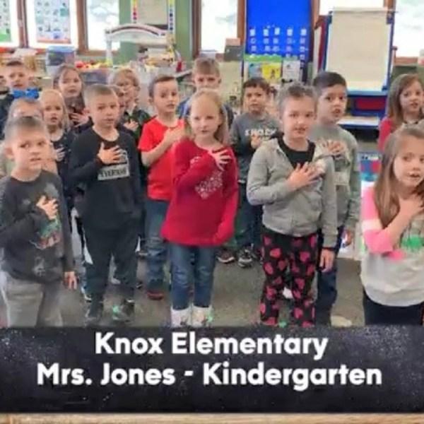 Knox Elementary - Mrs. Jones - Kindergarten