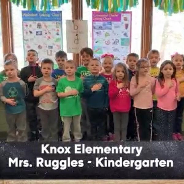 Knox Elementary - Mrs. Ruggles - Kindergarten