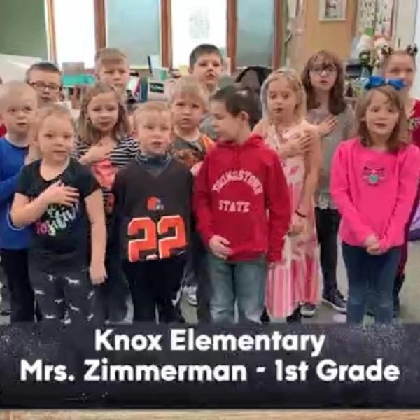 Knox Elementary - Mrs. Zimmerman - 1st Grade