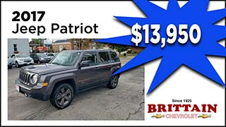 Jeep Patriot, Brittain Motors, MyValleyCars