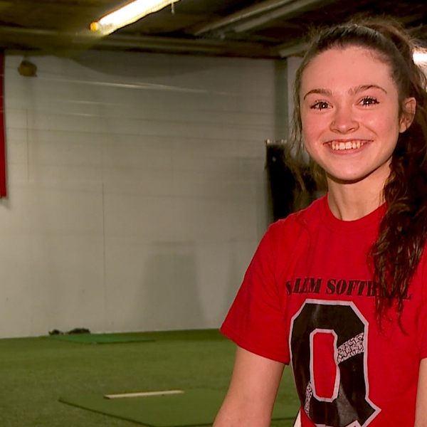 The Salem senior is a school record-holder in softball as well as an All Conference volleyball player with a 3.9 GPA.