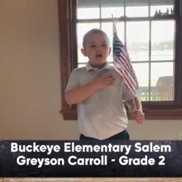 Buckeye Elementary - Greyson Carroll - 2nd Grade
