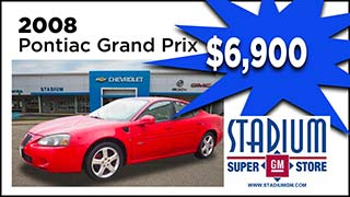 Pontiac Grand Prix, Stadium GM, MyValleyCars