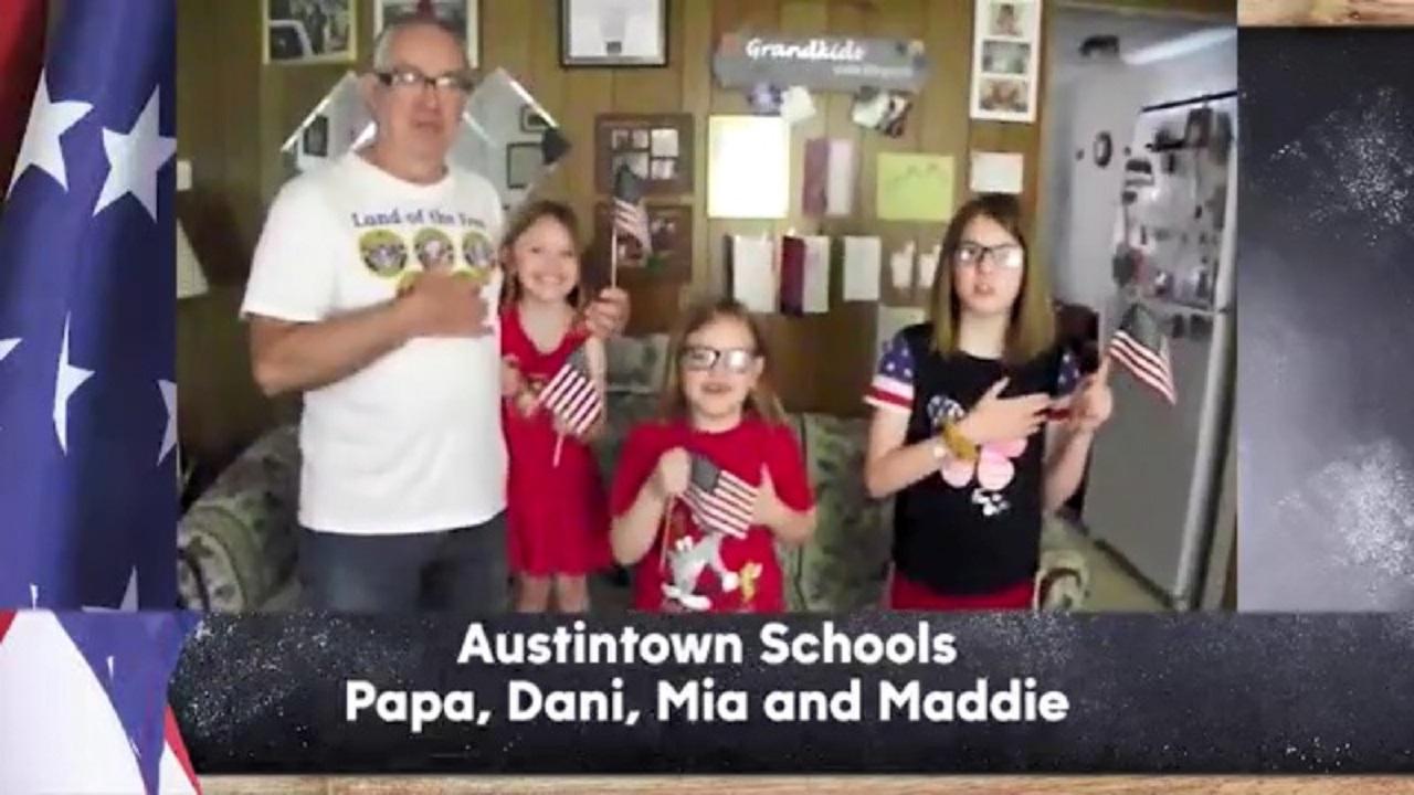 Austintown Schools - Papa, Dani, Mia, and Maddie