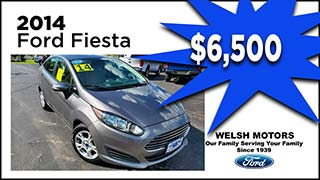 Ford Fiesta, Welsh Motors, MyValleyCars