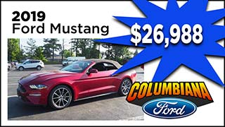 Ford Mustang, Columbiana Ford, MyValleyCars
