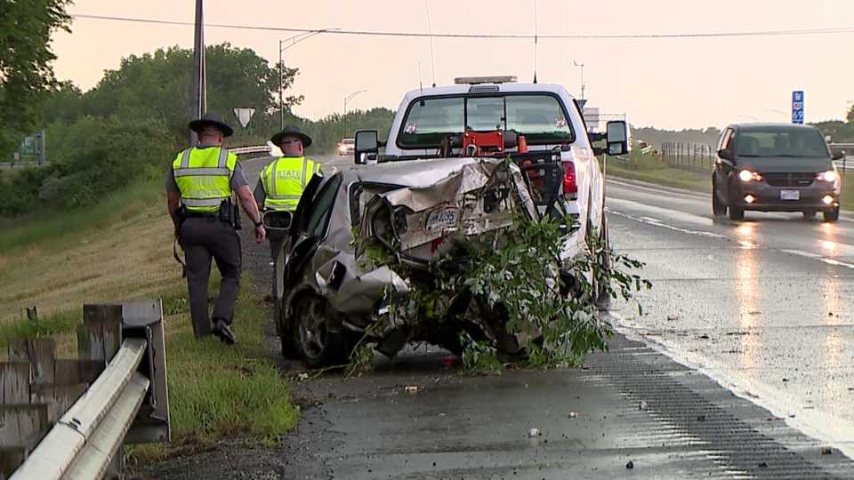Rt 82 accident in Champion Twp.