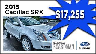 Cadillac SRX, Boardman Subaru, MyValleyCars