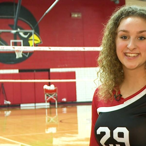 The Canfield senior is a talented and hard-working senior captain on the volleyball team with a 4.3 GPA