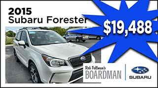 2015 Subaru Forester, Boardman Subaru, MyValleyCars