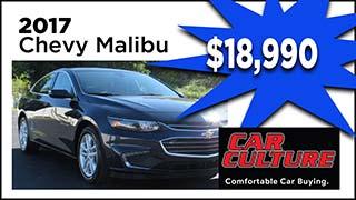 2017 Chevy Malibu, Car Culture, MyValleyCars