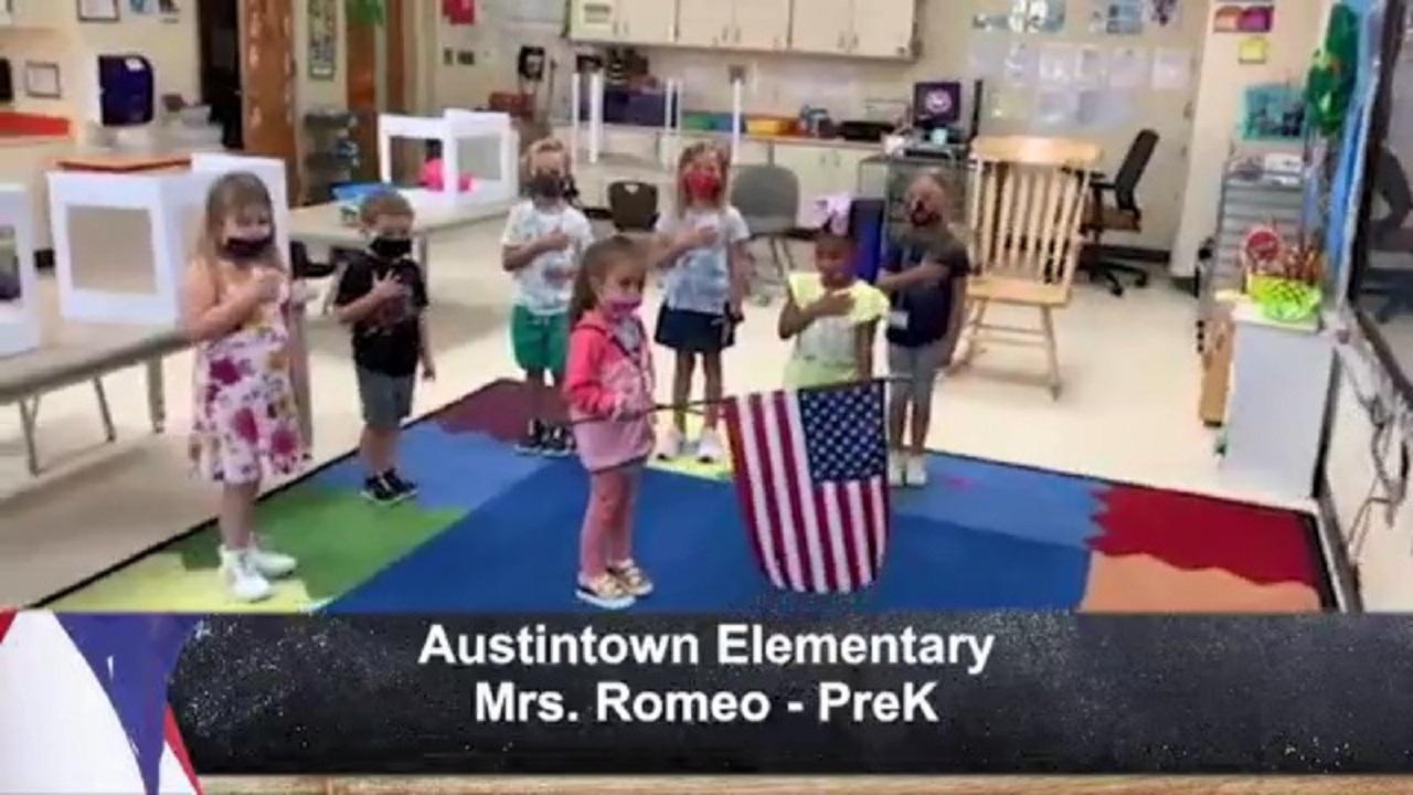 Austintown Elementary - Mrs. Romeo - PreK